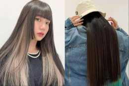 臉大頭大的女生最好別燙髮,這幾款拉風的長直髮,時尚減齡還瘦臉