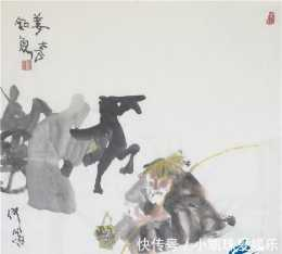 仲泊遊隨筆畫典:《史記》典故里的人之姜太公釣魚