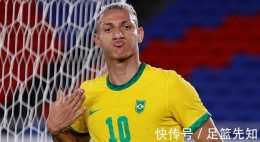 奧運金靴穩了!巴西新10號3場轟5球!皇馬眼紅,本澤馬迎新搭檔