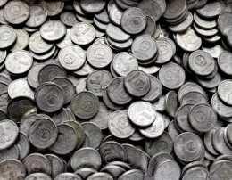 老三花中面值最小的一枚菊花一角硬幣,這幾年在默默的上漲。