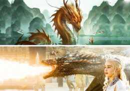 《權力的遊戲》龍媽的三隻龍竟然是中國龍的遠親?!